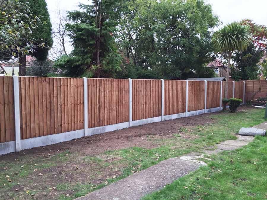 Concrete Post Fence